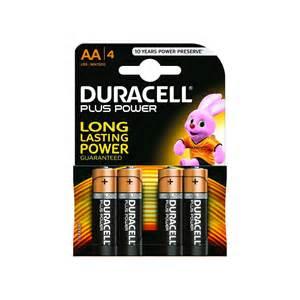 Duracell Plus AA Batterijen