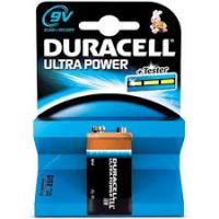 Duracell Ultra Power 9Volt (speciaal voor de rookmelder)