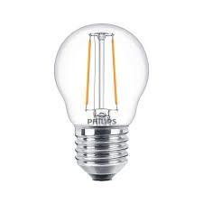 Philips Classic Filament heldere kogellamp 2-25W E27
