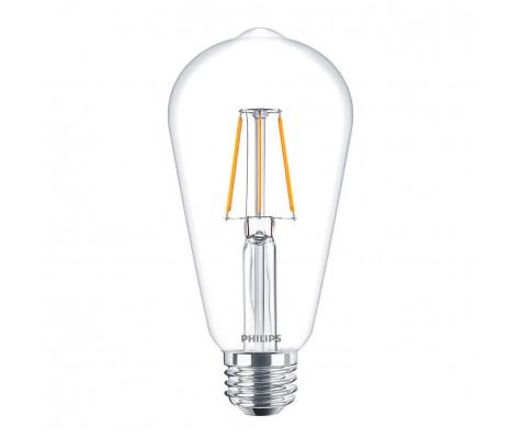 Philips Classic LEDbulb E27 4W helder warm licht, vervangt de 40Watt