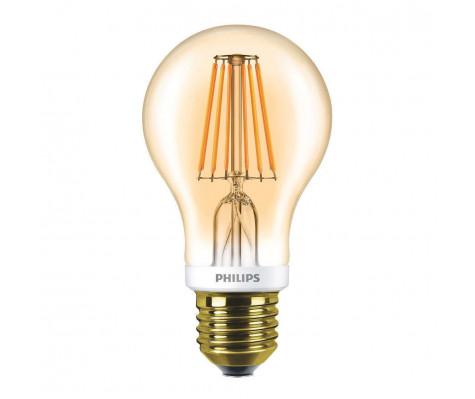 Philips Classic LEDbulb E27 A60 7.5W kleur 820 Goudkleurig & Dimbaar