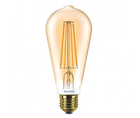 Philips Classic LEDbulb E27 7W kleur 820 Goudkleurig & Dimbaar