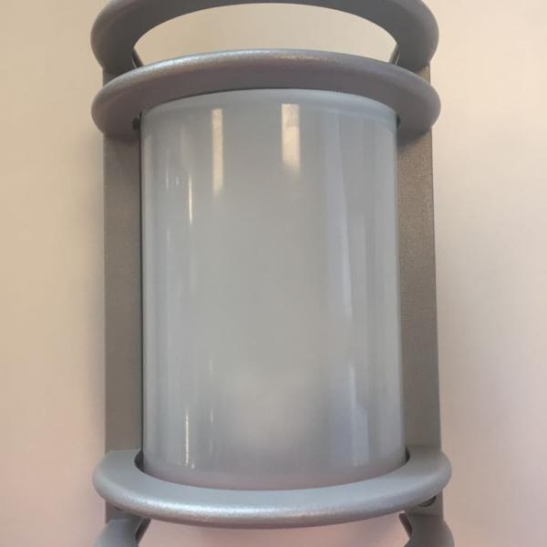 Wandbuitenarmatuur Nikko incl Osram deluxe D 13W warm wit lamp