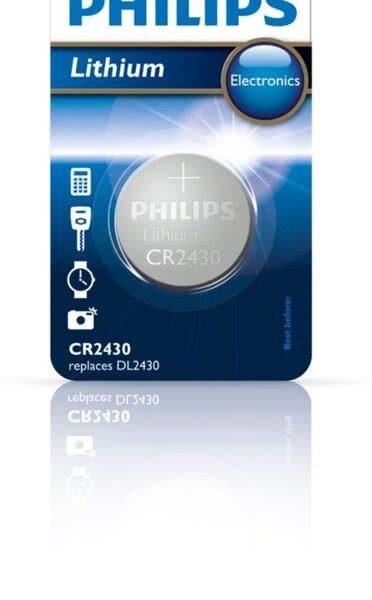 Philips CR2430 - Knoopcel batterij