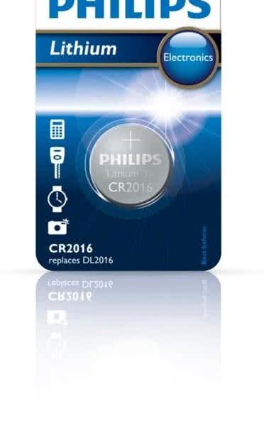 Philips CR2016/01B Minicel Lithium
