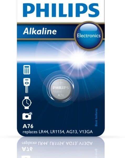 Productspecificaties Batterij Type batterij Knoopcel Kenmerken Aantal artikelen in verpakking 1 Productinformatie Artikelnummer A76/01B Gewicht 1 gram EAN 8711500802521