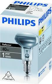 Philips Reflectorlamp R 50 40W E14 voordeelpack met 3 stuks