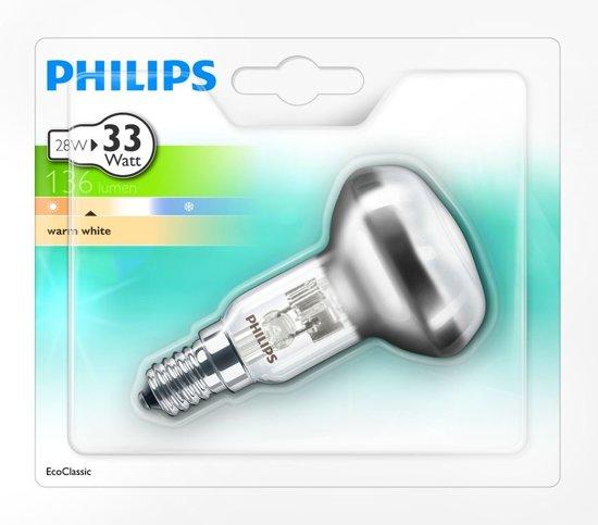 Philips Halogen Classic Halogeenlamp reflector 28W E14